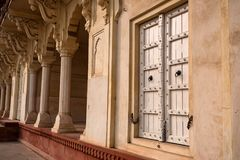 Złoty pawilon w forcie Agra Fotografia Royalty Free