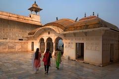 Złoty pawilon w forcie Agra Fotografia Stock