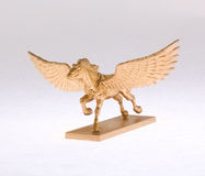 złoty Pegasus Zdjęcia Stock