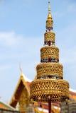 złoty pióropusz Zdjęcie Royalty Free
