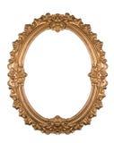 złoty ramowy Zdjęcie Royalty Free