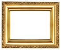 złoty ramowy Ilustracja Wektor