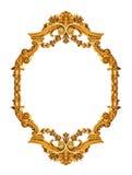 złoty ramowy antyk Fotografia Stock