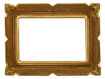 złoty ramowy antyk Fotografia Royalty Free