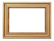 złoty ramowy rocznik Zdjęcia Stock