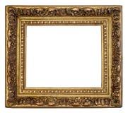 złoty ramowy stary Obraz Stock