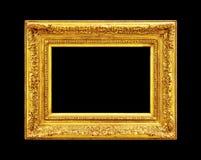 złoty ramowy stary Zdjęcie Royalty Free