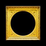 złoty ramowy stary Zdjęcie Stock
