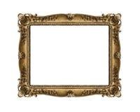 złoty ramowy stary Obraz Royalty Free