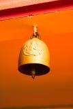 Złoty religia dzwon Fotografia Royalty Free