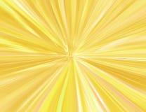 złoty starburst Obraz Royalty Free