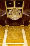 Złoty stiuk Fotografia Stock