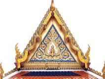 Złoty szczyt kaplica Zdjęcia Royalty Free