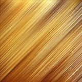 złoty talerz Obraz Stock