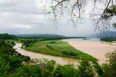 złoty trójbok Thailand Fotografia Stock