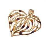 złoty wisiorek zdjęcie royalty free