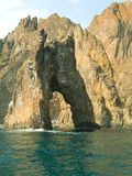 złoty zakazane morze Fotografia Stock