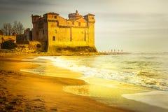 złoty zamku Zdjęcia Stock
