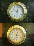 złoty zegarek Zdjęcie Stock