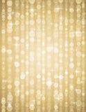 Złotych brightnes ilustracyjny stosowny dla christm Obrazy Stock