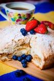 Z owoc jabłczany kulebiak Zdjęcie Royalty Free
