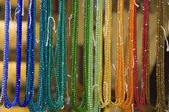 z paciorkami rainbow Zdjęcia Royalty Free