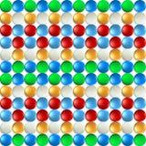 Z piłkami kolorowy tło zdjęcia stock