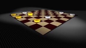 Z pieniądze Checker gra Obrazy Royalty Free