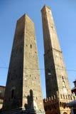 z powodu bolońskiego Le Torri Włoch Zdjęcie Stock