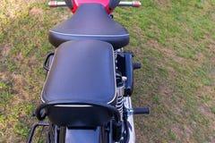 Z Przodu I Z Ty?u siedzenia motocykl obraz stock