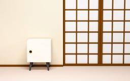 Z retro tv japoński tło obrazy royalty free