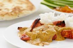 Z ryż kurczaka curry Obrazy Royalty Free