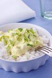Z ryż kurczaka curry Obraz Royalty Free