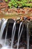 Z rzeką jesień krajobraz Obraz Royalty Free