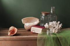 Z seashells wciąż życie Obraz Stock