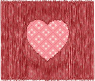 Z Sercem miłości Tło royalty ilustracja