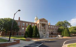 Z. Smith Reynolds Library at WFU Royalty Free Stock Image