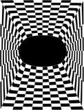 złudzenie optyczne Obrazy Royalty Free