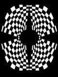 złudzenie optyczne royalty ilustracja
