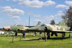 Z use wojskowego myśliwów odrzutowych obrazy royalty free