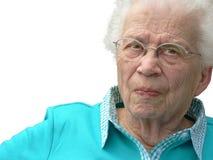 z włosami tło biała kobieta Zdjęcia Stock