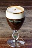 Z whisky irlandzka kawa Fotografia Royalty Free