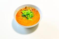Z wieprzowiną Panaeng curry fotografia stock