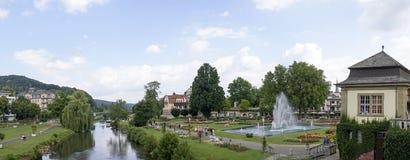 Zły Kissingen - zdroju miasteczko Zdjęcia Stock