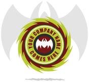 zły logo Fotografia Stock