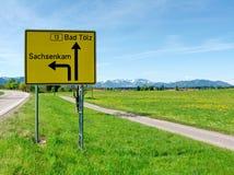 zły lz Oberbayern sachsenkam t Zdjęcie Royalty Free