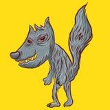 zły wilk ilustracja wektor