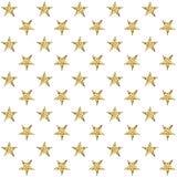 Z złotymi gwiazdami bezszwowy wzór również zwrócić corel ilustracji wektora Zdjęcie Royalty Free