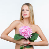 Z zdrową skórą piękna kobieta Zdjęcia Stock