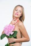 Z zdrową skórą piękna kobieta Obraz Royalty Free